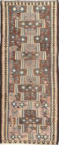 Kelim Fars Matta 135X335 Äkta Orientalisk Handvävd Hallmatta (Ull, Persien/Iran)