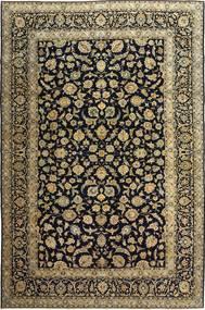 Keshan Patina Matta 255X385 Äkta Orientalisk Handknuten Svart/Ljusbrun Stor (Ull, Persien/Iran)