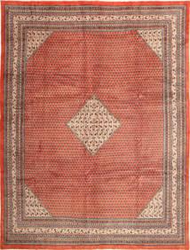 Sarough Mir Matta 292X390 Äkta Orientalisk Handknuten Mörkröd/Roströd Stor (Ull, Persien/Iran)