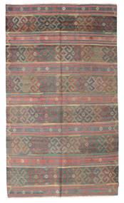 Kelim Semiantik Turkisk Matta 176X298 Äkta Orientalisk Handvävd Ljusbrun/Rosa (Ull, Turkiet)