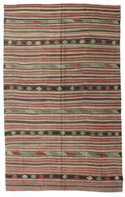 Kelim Semiantik Turkisk Matta 188X295 Äkta Orientalisk Handvävd Ljusgrå/Ljusbrun (Ull, Turkiet)