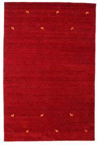 Gabbeh Loom Two Lines - Röd Matta 190X290 Modern Röd/Mörkröd (Ull, Indien)