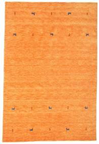 Gabbeh Loom Two Lines - Orange Matta 190X290 Modern Orange (Ull, Indien)