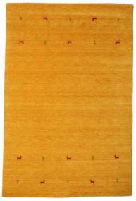 Gabbeh Loom Two Lines - Gul Matta 190X290 Modern Ljusbrun/Gul (Ull, Indien)