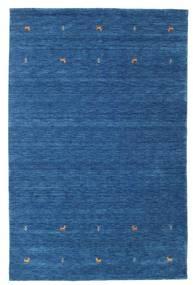 Gabbeh Loom Two Lines - Blå Matta 190X290 Modern Mörkblå/Blå (Ull, Indien)