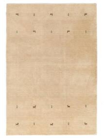 Gabbeh Loom Two Lines - Beige Matta 190X290 Modern Mörkbeige/Ljusbrun/Gul (Ull, Indien)