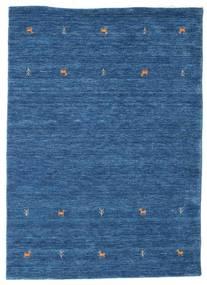 Gabbeh Loom Two Lines - Blå Matta 140X200 Modern Mörkblå/Blå (Ull, Indien)