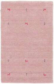 Gabbeh Loom Two Lines - Rosa Matta 100X160 Modern Ljusrosa (Ull, Indien)