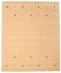 Gabbeh Loom Two Lines - Beige Matta 240X290 Modern Ljusbrun/Gul (Ull, Indien)