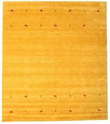 Gabbeh Loom Two Lines - Gul Matta 240X290 Modern Gul/Orange (Ull, Indien)