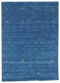 Gabbeh Loom Two Lines - Blå Matta 160X230 Modern Mörkblå/Blå (Ull, Indien)