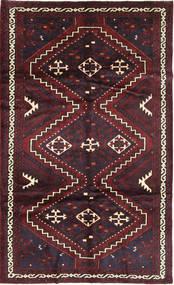 Lori Matta 175X293 Äkta Orientalisk Handknuten Mörkröd (Ull, Persien/Iran)