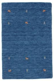 Gabbeh Loom Two Lines - Blå Matta 100X160 Modern Mörkblå/Blå (Ull, Indien)