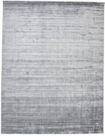 Bambu Silke Loom - Denim Blå Matta 300X400 Modern Ljusgrå/Ljusblå Stor ( Indien)