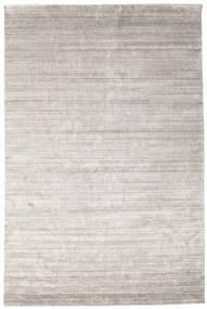 Bambu Silke Loom - Warm Grå Matta 200X300 Modern Ljusgrå ( Indien)