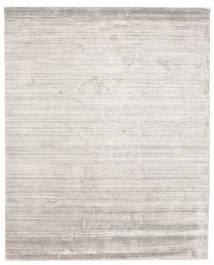 Bambu Silke Loom - Warm Grå Matta 200X250 Modern Ljusgrå ( Indien)