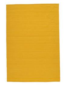 Kelim Loom - Gul Matta 160X230 Äkta Modern Handvävd Orange (Ull, Indien)