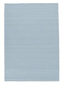 Kelim Loom - Ljusblå Matta 160X230 Äkta Modern Handvävd Ljusblå (Ull, Indien)