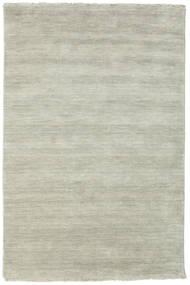 Handloom Fringes - Grå/Ljusgrön Matta 120X180 Modern Ljusgrå/Ljusbrun (Ull, Indien)