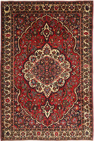 Bakhtiar Matta 215X330 Äkta Orientalisk Handknuten Mörkröd/Mörkbrun (Ull, Persien/Iran)