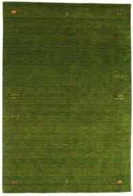 Gabbeh Loom Frame - Grön Matta 190X290 Modern Mörkgrön (Ull, Indien)