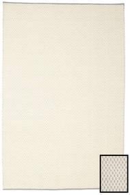 Bobbie - White_Grey Matta 200X300 Äkta Modern Handvävd Beige/Mörkbeige (Ull, Indien)