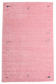 Gabbeh Loom Frame - Rosa Matta 190X290 Modern Ljusrosa/Rosa (Ull, Indien)