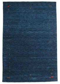 Gabbeh Loom Frame - Mörkblå Matta 190X290 Modern Mörkblå (Ull, Indien)