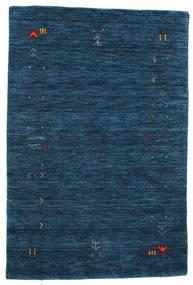 Gabbeh Loom Frame - Mörkblå Matta 100X160 Modern Mörkblå (Ull, Indien)