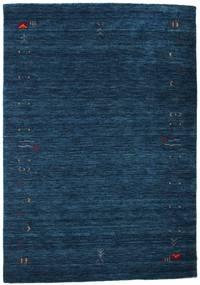 Gabbeh Loom Frame - Mörkblå Matta 140X200 Modern Mörkblå (Ull, Indien)