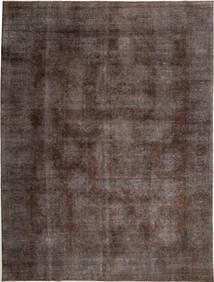 Colored Vintage Matta 283X384 Äkta Modern Handknuten Ljusbrun/Mörkbrun Stor (Ull, Persien/Iran)