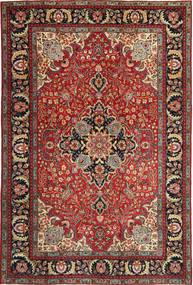 Tabriz Patina Matta 205X305 Äkta Orientalisk Handknuten Mörkröd/Mörkbrun (Ull, Persien/Iran)