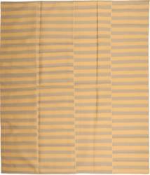 Kelim Moderna Matta 230X270 Äkta Modern Handvävd Mörkbeige/Ljusbrun (Ull, Persien/Iran)