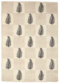 Himalaya Matta 138X196 Äkta Modern Handknuten Beige/Ljusgrå (Ull, Indien)