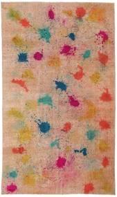 Colored Vintage Matta 170X286 Äkta Modern Handknuten Ljusbrun/Mörkröd (Ull, Turkiet)