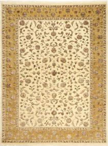 Tabriz Royal Magic Matta 174X235 Äkta Orientalisk Handknuten Beige/Ljusbrun ( Indien)