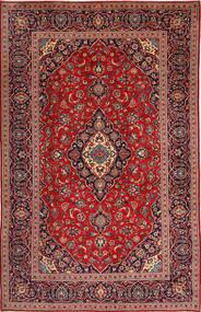 Keshan Matta 197X307 Äkta Orientalisk Handknuten Mörkröd/Mörkbrun (Ull, Persien/Iran)