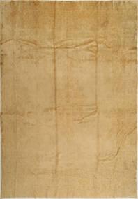 Kerman Matta 275X388 Äkta Orientalisk Handknuten Ljusbrun/Mörkbeige Stor (Ull, Persien/Iran)