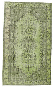 Colored Vintage Matta 148X255 Äkta Modern Handknuten Ljusgrön/Mörkgrön (Ull, Turkiet)