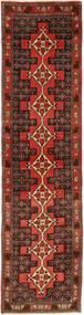 Senneh Matta 70X283 Äkta Orientalisk Handknuten Hallmatta Mörkbrun/Mörkröd (Ull, Persien/Iran)