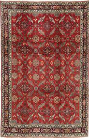 Koliai Matta 208X321 Äkta Orientalisk Handknuten Mörkröd/Mörkbrun (Ull, Persien/Iran)