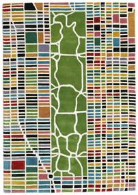 New-York/Manhattan Handtufted - Multi Matta 140X200 Modern Beige/Olivgrön (Ull, Indien)