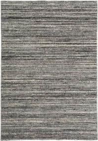 Mazic - Mörkgrå Matta 120X180 Äkta Modern Handknuten Mörkgrå/Ljusgrå (Ull, Indien)