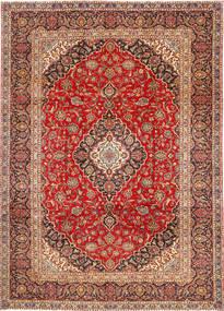 Keshan Matta 252X345 Äkta Orientalisk Handknuten Roströd/Mörkröd/Mörkbrun Stor (Ull, Persien/Iran)