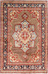 Koliai Matta 198X308 Äkta Orientalisk Handknuten Mörkröd/Mörkbrun (Ull, Persien/Iran)