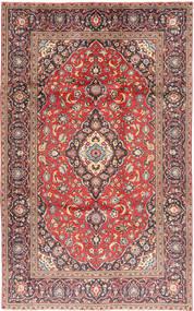 Keshan Matta 188X301 Äkta Orientalisk Handknuten Mörkröd/Roströd (Ull, Persien/Iran)