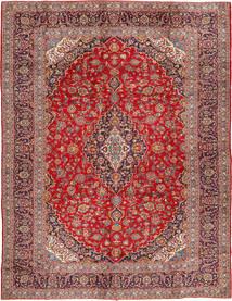Keshan Matta 290X390 Äkta Orientalisk Handknuten Mörkröd/Roströd Stor (Ull, Persien/Iran)