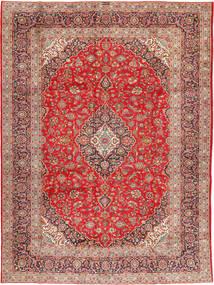 Keshan Signature : Kashan Ghotbi Matta 298X400 Äkta Orientalisk Handknuten Ljusbrun/Roströd Stor (Ull, Persien/Iran)