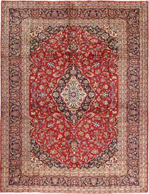 Keshan Matta 295X397 Äkta Orientalisk Handknuten Mörkröd/Roströd Stor (Ull, Persien/Iran)