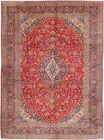 Keshan Matta 290X400 Äkta Orientalisk Handknuten Mörkröd/Roströd Stor (Ull, Persien/Iran)